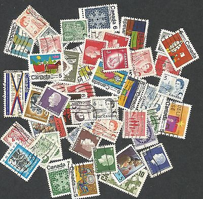 CANADA--Lot of U-F-VF stamps--all with Winnipeg tagging