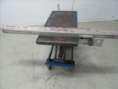 """Flat Belt Conveyor 4"""" X 60"""" ( Used and Tested )"""