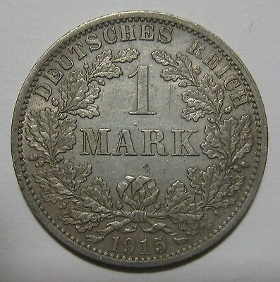 Lot of Six  All Silver 1 Mark  Coins from Germany  1901-1915