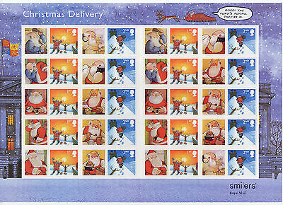 LS21 2004 Smilers for Christmas Superb (face value £12.80)