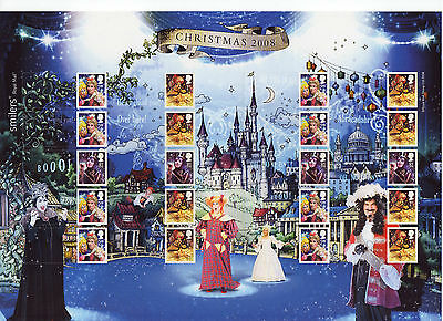 LS54 2008 Smilers for Christmas Pantomime  (face value £12.80)