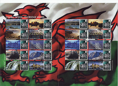 LS37 2007 Smilers Glorious Wales (face value £12.80)