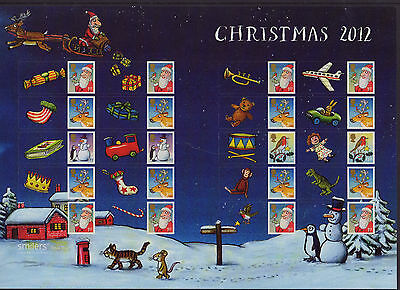 LS83 2012 Smilers Christmas Illustrations  (face value £12.80)