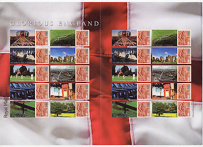 LS38 2007 Smilers For Glorious England (face value £12.80)