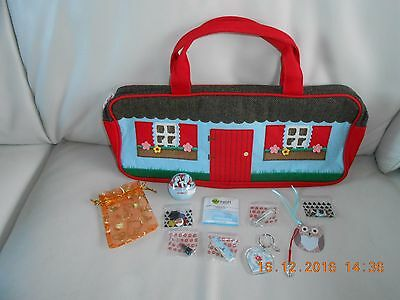 Cath Kidston Chalet Knitting/craft/sewing Bag-New+Gift Extras