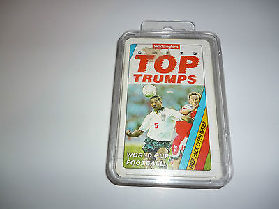 Old Super Top Trumps trading card set  -  World Cup Football