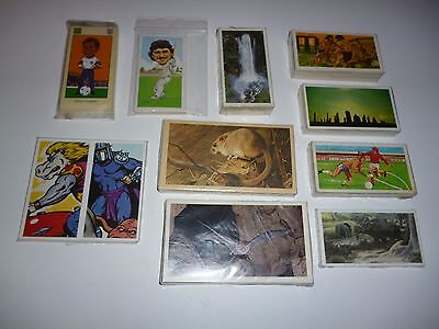 Collection of 10 Different Trade/ Trading card COMPLETE Sets  Lot 3