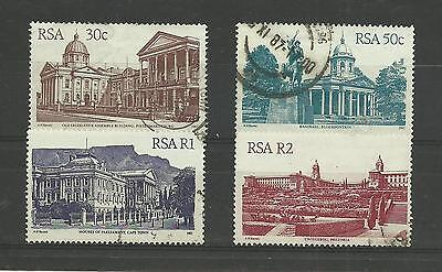 SOUTH AFRICA 1987   Architecture High Values   fine used