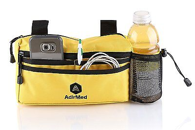 AdirMed Wheelchair Pouch - Rollator Pouch - Walker Pouch-Yellow