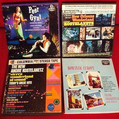 Reel to Reel Collection Symphony Orchestral Classical 7.5 ips lot #7