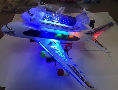 Big Mac In Air Space Shuttle-10 LED Lights.music.action,fan action propeller