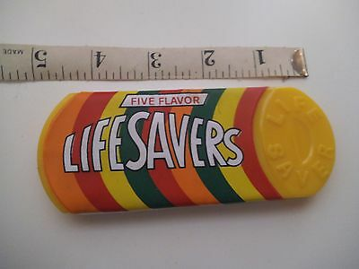 Life Savers Candy Comb & Mirror Five Flavors Yellow Compact Set