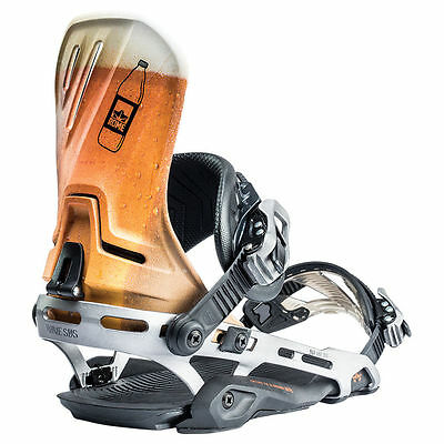 Rome D.O.D. Snowboard Bindings (Beer, L/XL) Mens Unisex Hardware New