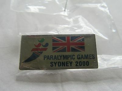 Paralympic Games Sydney 2000 Pin Badge New Collectable