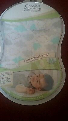 Brand new baby peanut sleeping bag by Bright starts less than 1 .0 tog size M