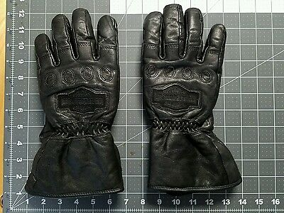 Harley-Davidson leather gloves. Size L Winter weight. Lined.