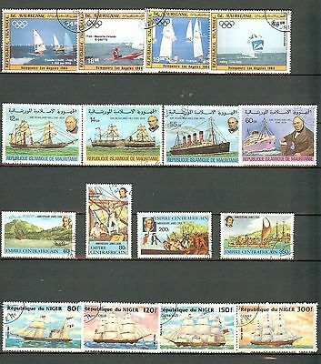Small collection of Boat Stamps