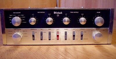 Vintage McIntosh C-11 Tube Stereo Preamplifier