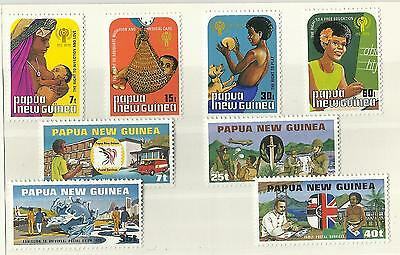 SALE Papua New Guinea - 2 sets - MNH - Int. Year of the Child & U.P.U. - 1979/80