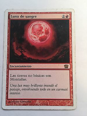 Magic The Gathering Luna de Sangre.
