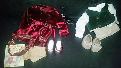 American Girl Doll Bitty Twins Holiday Outfits