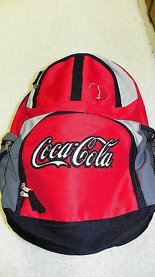 Coca Cola Back Pack NEW w/o Tags - NICE!!!