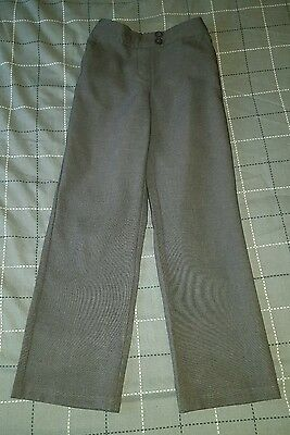 girls grey trousers 6-7 years
