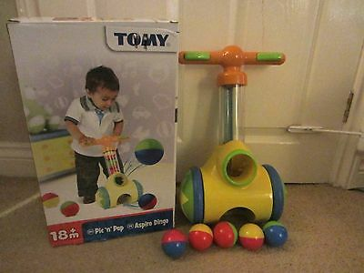 TOMY toy pic n pop Toddler Unique Push Along Walker