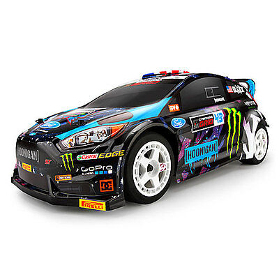HPI Ken Block 2015 Ford Fiesta Painted Body (Wr8 Flux) - 116432