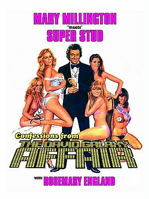 """The David Galaxy Affair 16"""" x 12"""" Reproduction Movie Poster Photograph"""