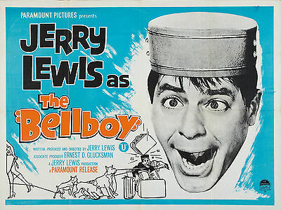 """The Bellboy 1960 16"""" x 12"""" Reproduction Movie Poster Photograph"""