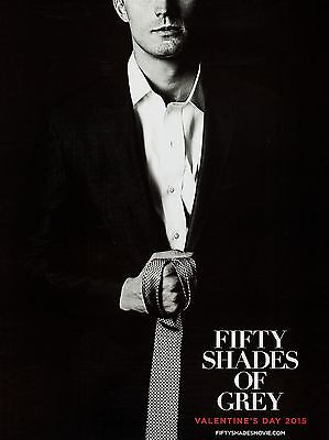 "50 Shades of Grey 16"" x 12"" Reproduction Movie Poster Photograph"
