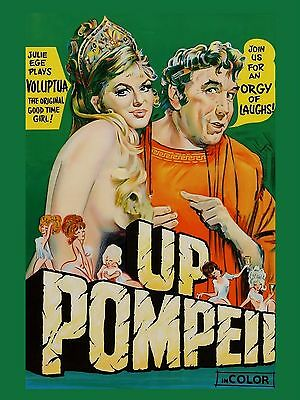 """Up Pompeii 16"""" x 12"""" Reproduction Movie Poster Photograph"""