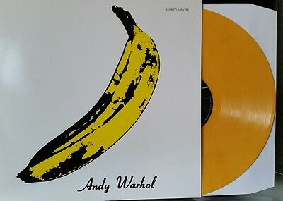 The Velvet Underground & Nico - Limited Edition Yellow Marble Vinyl LP - New