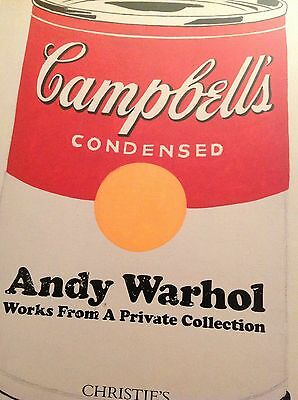 Christies Auction Catalogue Andy Warhol Works From A Private Collection 2017