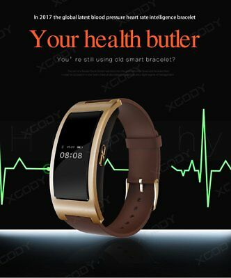 CK11 Bluetooth Smart Sport Bracelet Blood Pressure Heart Rate Tracker for iPhone