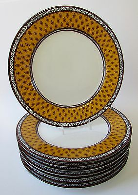 "Pierre Deux Inspired ""AVIGNON"" French Country Dinner Plates Set 8 Fitz & Floyd"