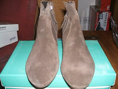 Brand New Clarks Brown Suede Ankle Boots