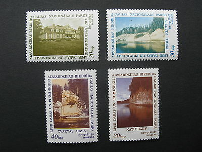 Latvia, Latvian LSSR Nature and Monuments protection. Gauja national Park stamps