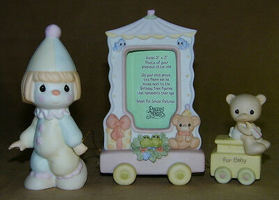 Baby Train Frame Set By Precious Moments
