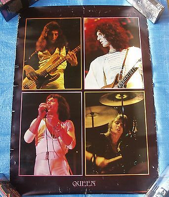 Queen Warner Pioneer Promo Poster Japan Freddie Mercury