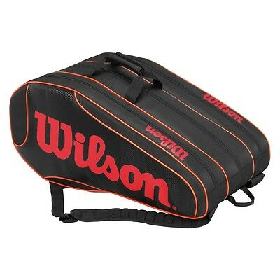 Wilson 12 Racket Team Burn Bag