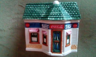 Coca Cola Sweet Shop Minature Cannister Collection