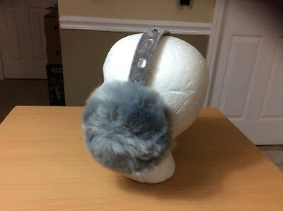 CHARLIE PAIGE EarMuffs Gray BLING style 400854