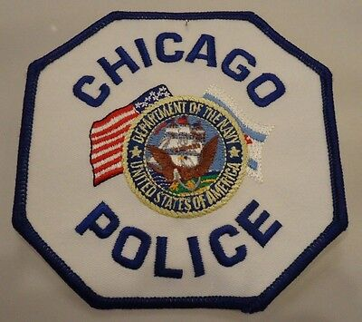 Chicago Police Department / Navy patch