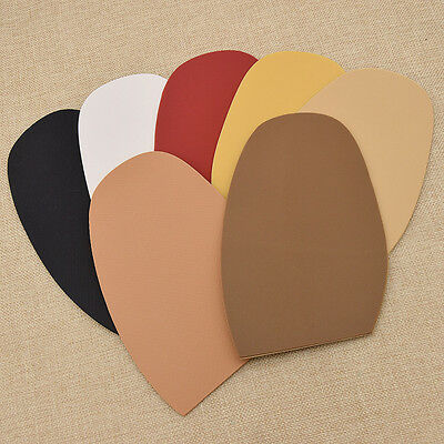 2 Pcs DIY Rubber Protective Half Sole Repairs Shoe Supplies Multicolor New