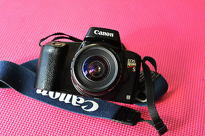 Canon EOS Rebel S II Film Camera With Canon EOS EF Zoom Lens