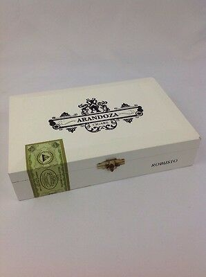 Cigar Box Empty Arandoza White Robusta