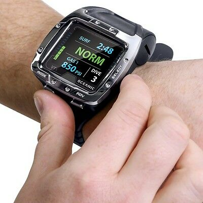 Oceanic VTX Wrist Scuba Diving Computer  Air Nitrox  with USB Cable Color new