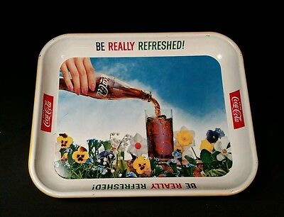 """Vintage Coca-Cola Tray """"Be Really Refreshed"""""""